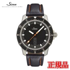 【豪華ノベルティ進呈】 正規品 Sinn ジン Instrument Watches インストゥルメントウォッチ 自動巻き メンズ腕時計 カウレザーストラップ 送料無料 105.ST.SA ラッピング無料 あす楽