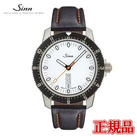 【豪華ノベルティ進呈】 正規品 Sinn ジン Instrument Watches インストゥルメントウォッチ 自動巻き メンズ腕時計 カウレザーストラップ 送料無料 105.ST.SA.W ラッピング無料 あす楽
