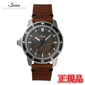【豪華ノベルティ進呈】 正規品 Sinn ジン JAPAN Limited ジャパンリミテッド 自動巻き メンズ腕時計 カウレザーストラップ 送料無料 EZM3.F.V ラッピング無料 あす楽