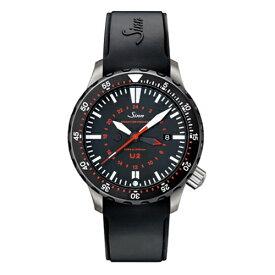 【豪華ノベルティ進呈】 正規品 Sinn ジン Diving Watches U2 メンズ腕時計 U2.SDR