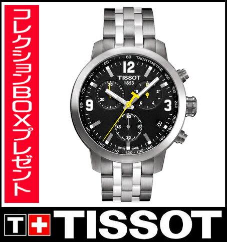 【送料無料】国内正規品 TISSOT[ティソ]T-Sport PRC200 Chrono メンズ腕時計 T055.417.11.057.00 【RCP】【P08Apr16】
