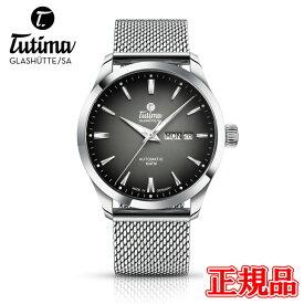 正規品 Tutima チュチマ フリーガースカイ 自動巻き メンズ腕時計 送料無料 6105-20 ラッピング無料