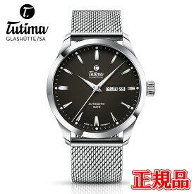 正規品 Tutima チュチマ フリーガースカイ 自動巻き メンズ腕時計 送料無料 6105-28 ラッピング無料