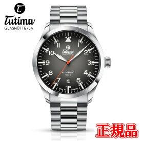 正規品 Tutima チュチマ フリーガー 自動巻き メンズ腕時計 送料無料 6105-32 ラッピング無料