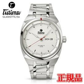 正規品 Tutima チュチマ ザクセン 自動巻き メンズ腕時計 送料無料 6120-02 ラッピング無料