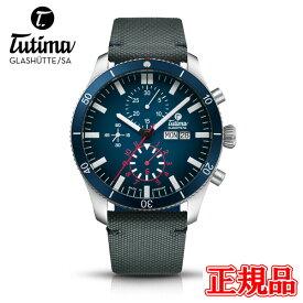 正規品 Tutima チュチマ グランドフリーガーエアポートクロノグラフ 自動巻き メンズ腕時計 送料無料 6406-01 ラッピング無料 あす楽