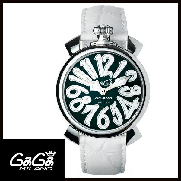 【送料無料】 国内正規品 GAGA MILANO ガガミラノ MANUALE 40MM ステンレス レディース腕時計 5020.4【新品】【RCP】【02P12Oct14】