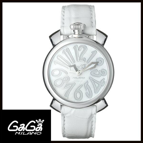【送料無料】 国内正規品 GAGA MILANO ガガミラノ MANUALE 40MM ステンレス レディース腕時計 5020.8【新品】【RCP】【02P12Oct14】
