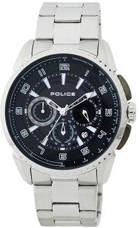 POLICE[警察]FLARE[喇叭形]  男子的手錶13648JS-02M