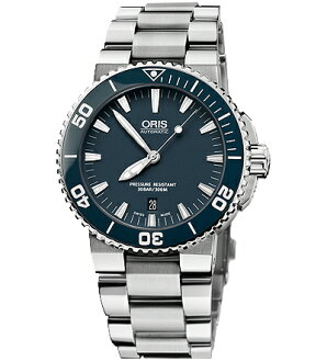 ORIS dive aquis date mens watch Ref.733 7653 41 55M fs3gm