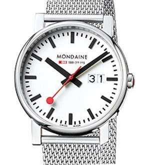 【ポイント最大31倍!14日20時〜21日1時59分まで!】【送料無料】 MONDAINE[モンディーン] Evo - Big Date レディース腕時計 A669.30305.11SBM