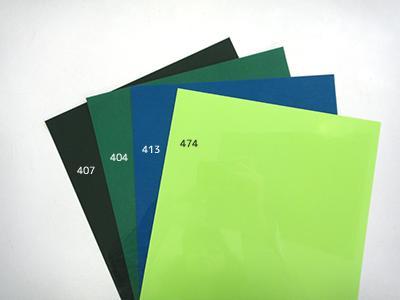 407フォレストグリーン/404グリーン/413ターコイズ(緑っぽいです)/474ライトグリーン