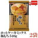 送料無料 日清フーズ ホットケーキミックス 極もち 国内麦小麦粉 100%使用 540g×2袋