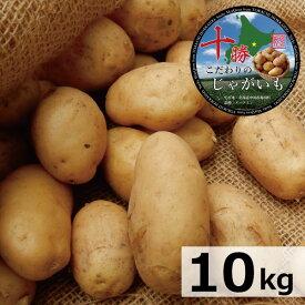 じゃがいも 送料無料 北海道産 十勝産 メークイン 越冬M/特M/L/2L/3Lサイズ混合 10kg メイクイーン/ジャガイモ/じゃが芋/ジャガ芋/ばれいしょ/馬鈴薯/バレイショ/正規品