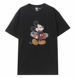アウトレット価格 DC ディーシー シューズ ディズニー メンズ Tシャツ 半袖 レギュラーシルエット 20 DISNEY MICKEY ORG SS Tシャツ ティーシャツ