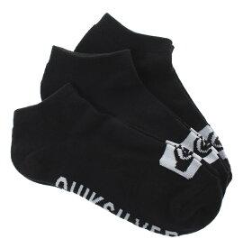 クイックシルバー QUIKSILVER  3 ANKLE PACK Socks 【EQYAA03667 KVJ0】【Mens】