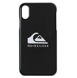 セール SALE Quiksilver クイックシルバー 【直営店限定】 QS iPhone XR Plain 小物 アクセサリー【Mens】