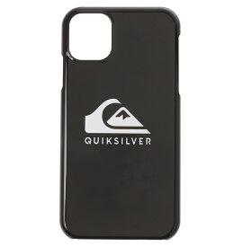 クイックシルバー QUIKSILVER  QS iPhone 11Plain Small Acc 【QOA205319B BLK】【Mens】