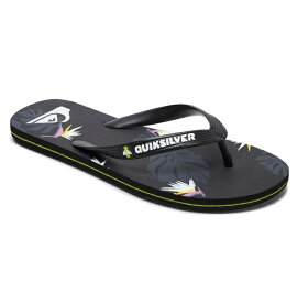 セール SALE Quiksilver クイックシルバー ビーチサンダル MOLOKAI PARADISE ビーチサンダル ビーチ サーフィン サーフ 海水浴 夏 水泳 ビーチウェア