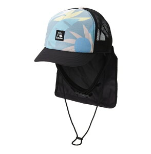 セール SALE Quiksilver クイックシルバー UPF50+ 日焼け防止メッシュキャップ UV WATER CAMP MESH CAP サーフキャップ サーフィン アウトドア フェス