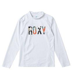 セール SALE ROXY ロキシー ラッシュガード UVカット (100-150cm) MINI BOTANICAL LOGO L/S プルオーバー ラッシュガード【Kids】