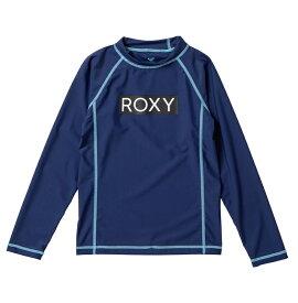 アウトレット価格 ROXY ロキシー ラッシュガード UVカット (100-150cm) MINI RASHIE L/S プルオーバー ラッシュガード【Kids】