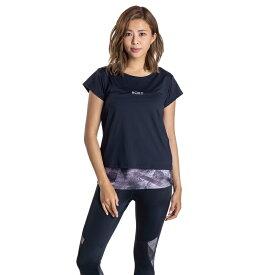 セール SALE ROXY ロキシー フィットネス 速乾 UVカット Tシャツ & カップ付きキャミ セット FULL MOON SET TEE トップス その他 トレーニング ヨガ スポーツウェア【Womens】