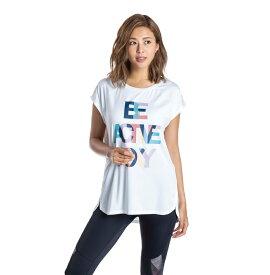 セール SALE ROXY ロキシー フィットネス 水陸両用 速乾 UVカット Tシャツ BE ACTIVE ROXY TEE Tシャツ ティーシャツ トレーニング ヨガ スポーツウェア【Womens】