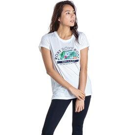 セール SALE ROXY ロキシー フィットネス 水陸両用 速乾 UVカット Tシャツ ROXY ROXY ROXY Tシャツ ティーシャツ トレーニング ヨガ スポーツウェア【Womens】
