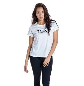 セール SALE ROXY ロキシー フィットネス 水陸両用 速乾 UVカット Tシャツ ONESELF Tシャツ ティーシャツ トレーニング ヨガ スポーツウェア【Womens】