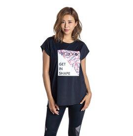セール SALE ROXY ロキシー フィットネス 【ROXY x ELEY KISHIMOTO】 水陸両用 速乾 UVカット Tシャツ Tシャツ ティーシャツ トレーニング ヨガ スポーツウェア【Womens】