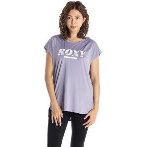 セール SALE ROXY ロキシー フィットネス 水陸両用 速乾 UVカット Tシャツ EST.1990 ROXY Tシャツ ティーシャツ トレーニング ヨガ スポーツウェア