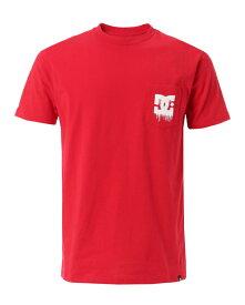 【アウトレット価格 / DC ディーシー】メンズ 16 TECH POCKET STAR Tシャツ・半袖 5126J616 RED
