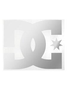 【DC ディーシー】 メンズ DC TRANSFER 7 ステッカー スノーボード カッティングステッカー スケボー 5638J001 SIL【Mens】