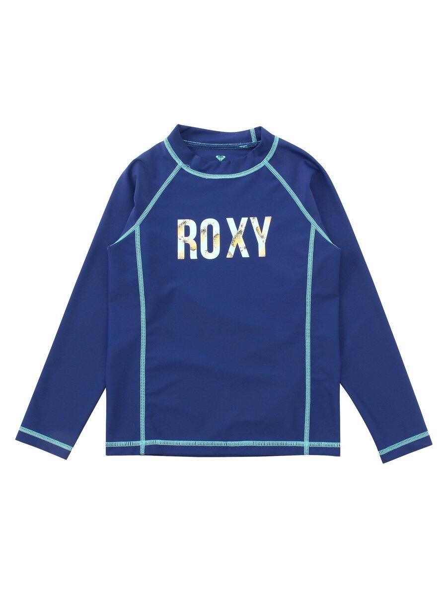 アウトレット価格 ROXY ロキシー アウトレット価格 ROXY ロキシー キッズ / ガール ロゴ長袖ラッシュガード(100-150) プルオーバー ラッシュガード プルオーバー ラッシュガード