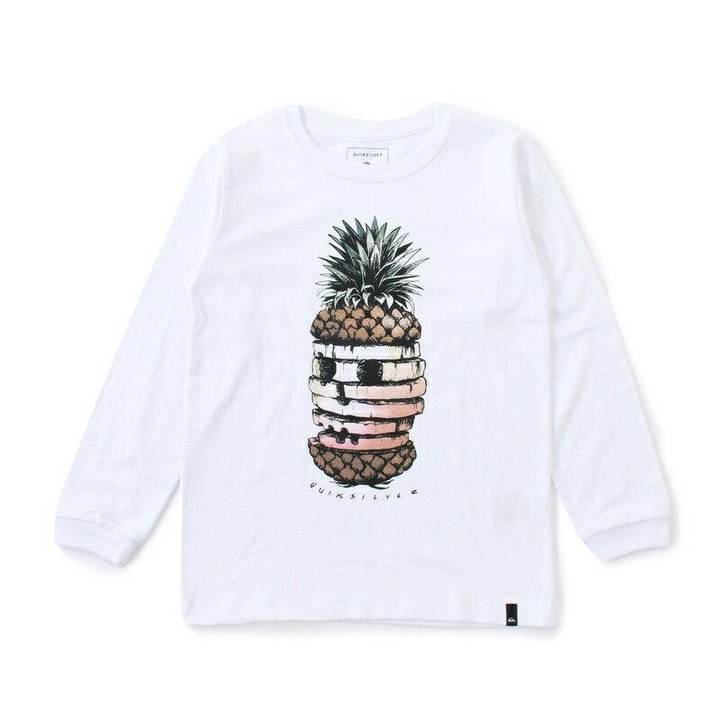 アウトレット価格 Quiksilver クイックシルバー ユース/キッズ ロングスリーブグラフィックTシャツ (100-160CM) Tシャツ ティーシャツ
