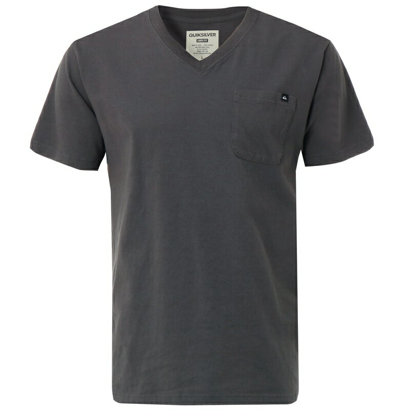 アウトレット価格 Quiksilver クイックシルバー メンズ / Vネック ベーシックポケット Tシャツ PELHAM VNECK ST Tシャツ ティーシャツ
