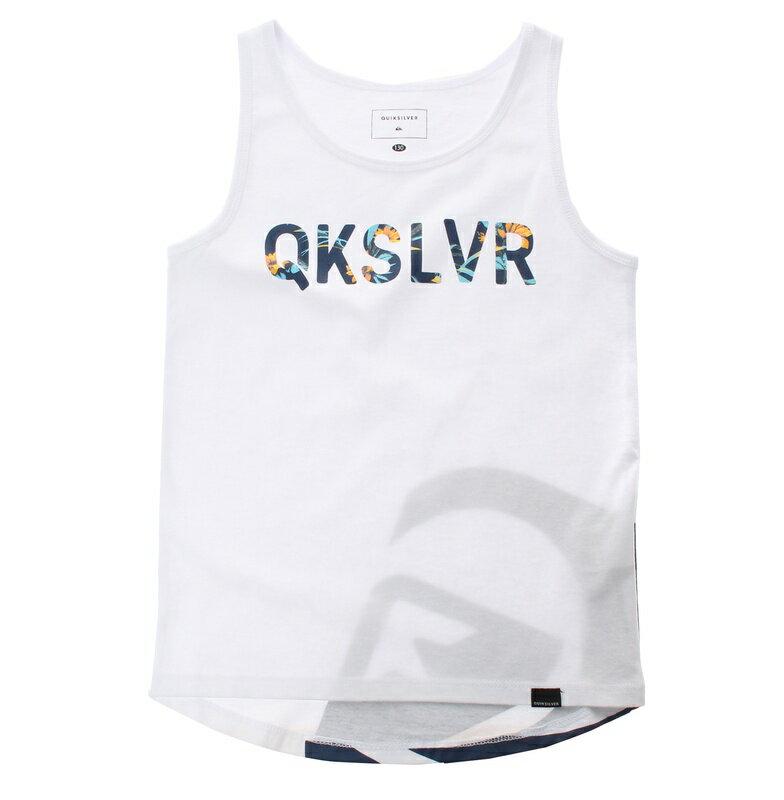 アウトレット価格 Quiksilver クイックシルバー キッズ / バックプリント タンクトップ(100-160) Tシャツ ティーシャツ