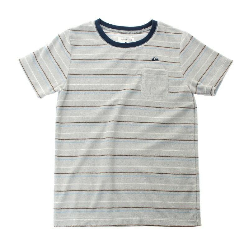 アウトレット価格 Quiksilver クイックシルバー キッズ / パイルTシャツ(100-160) Tシャツ ティーシャツ