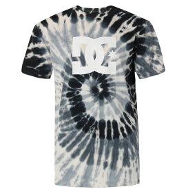 アウトレット価格 DC ディーシー シューズ タイダイロゴTシャツ 18 TIEDYE SS Tシャツ ティーシャツ