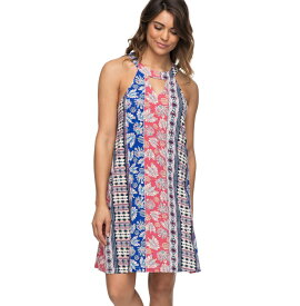 アウトレット価格 ROXY ロキシー ホルターネックプリント ドレス ドレス ワンピース ワンピ