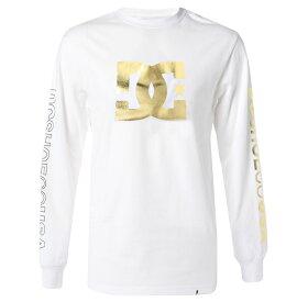 アウトレット価格 DC ディーシー シューズ メンズ 袖プリント 長袖 Tシャツ Tシャツ ティーシャツ