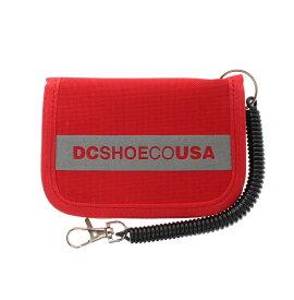 ディーシーシューズ DC SHOES  18 KD FA PASSCASE Small Acc 【7430E874 RED】