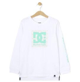 セール SALE DC ディーシー シューズ キッズ 長袖 袖プリント Tシャツ (120-160) 19 KD PAISLEY LS Tシャツ ティーシャツ
