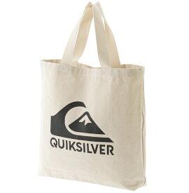 クイックシルバー QUIKSILVER  キャンバス トートバッグ (43x47x9cm) CANVAS TOTE BAG Other Bag 【QBG191320 NAT2】