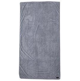 クイックシルバー QUIKSILVER  吸水速乾 ビーチタオル (150×68cm) BEACH TOWEL SOLID Towel 【QTW195300 GRY】【Mens】