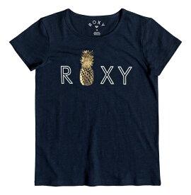 ロキシー ROXY  箔プリント Tシャツ STARS DONT SHINE (130-150) T-shirts 【ERGZT03391 BTK0】