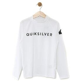 セール SALE Quiksilver クイックシルバー キッズ UPF50+ ラッシュガード ON TOUR LR KIDS (100-160) プルオーバー ラッシュガード