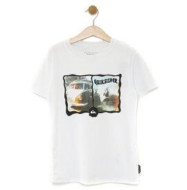 アウトレット価格 Quiksilver クイックシルバー アウトレット価格 Quiksilver クイックシルバー キッズ UPF50+ ラッシュ Tシャツ MORNING SESSION SS KIDS (100-160) プルオーバー ラッシュガード プルオーバー ラッシュガード