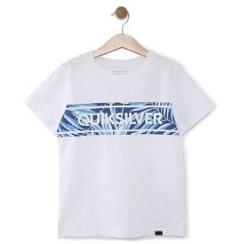 クイックシルバー QUIKSILVER  キッズ Tシャツ DF FRONTLINE ISLAND ST KIDS (100-160) T-shirts 【KST191111 WHT1】